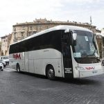 Bus turistici Roma: drastico calo ingressi in centro