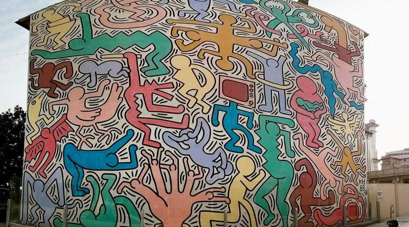Il murale Tuttomondo di Pisa opera di Keith Haring