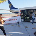 Pisa. Aeroporto: sindaco all'arrivo del primo volo Ryanair dopo il lockdown