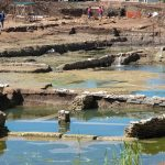 Roma. Circondata da mistero l'antica vasca monumentale scoperta in zona Malafede
