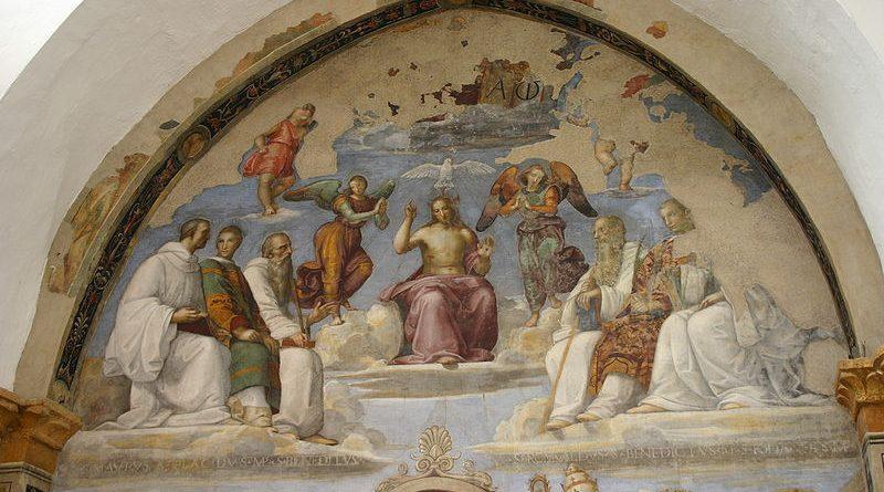 Perugia - Cappella di San Severo (Raffaello) - Foto G. Dall'Orto - 5 ago 2006