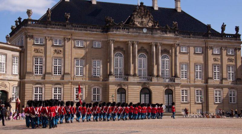 Il palazzo di Amalienborg Copenhagen