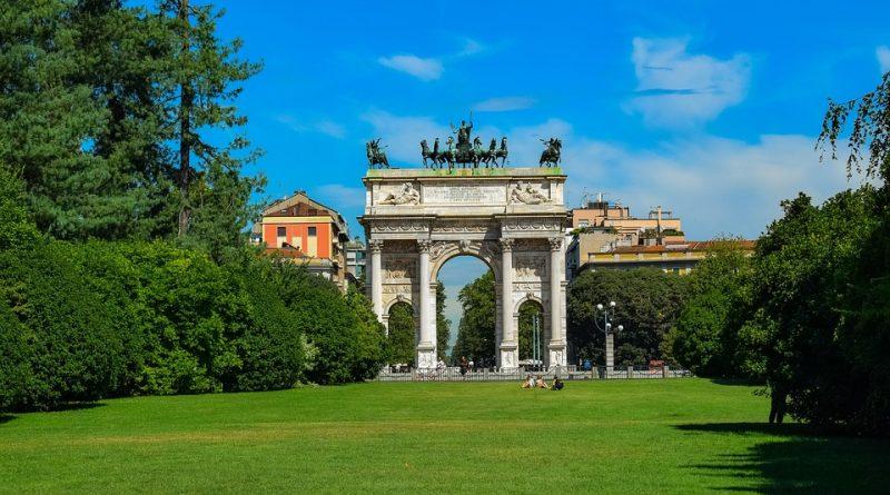 Milano Parco Sempione Arco della Pace ph pixabay