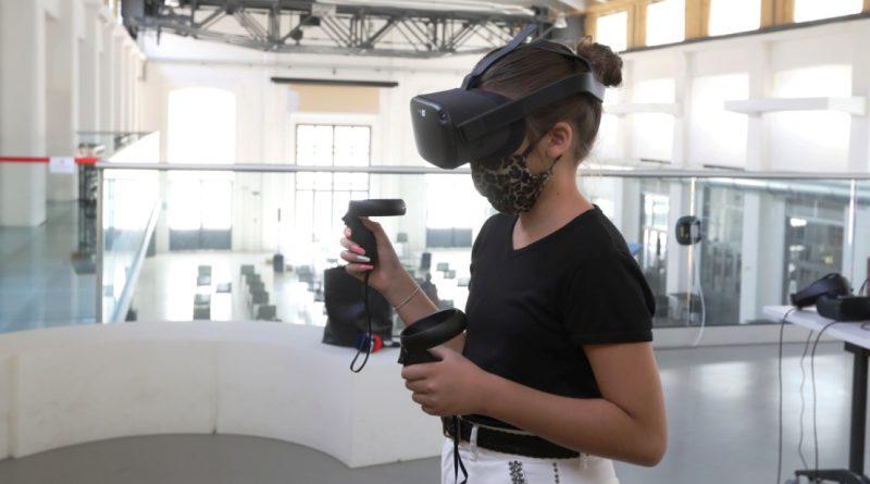 Realta virtuale. esperienza immersiva al Laboratorio aperto - ph comune Modena